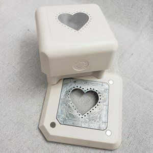 Martha Stewart Heart Paper Punch Scrapbook Crafts